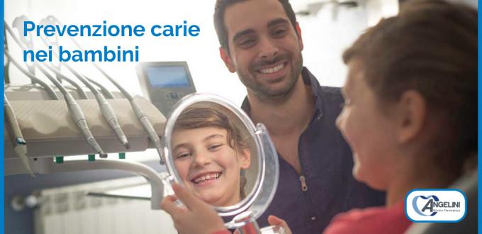 Dentista a Grosseto | prevenzione carie nei bambini
